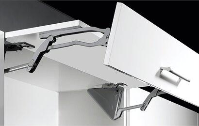 Hochfaltbeschlag Lift Advanced HF, Aluminium, Kunststoff