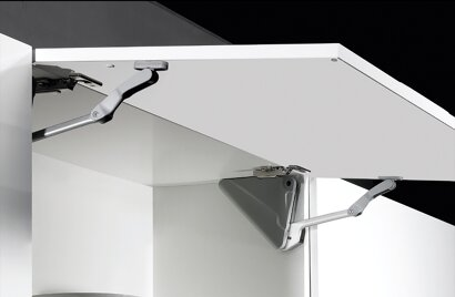 Hochklappbeschlag Lift Advanced HK, Aluminium, Kunststoff
