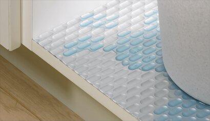 Wasserschutzmatte, Polystyrol