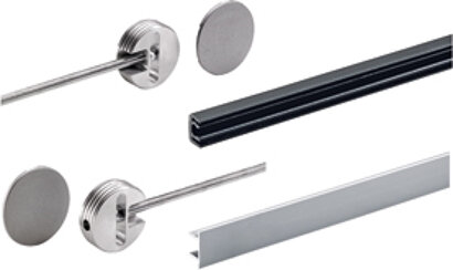 Ausrichtbeschlag InnoTech, Aluminium, Kunststoff