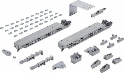Dämpfungssystem TopLine XL, Metall, Kunststoff