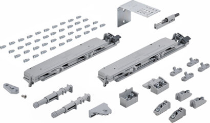 Dämpfungssystem TopLine XL, Metall, Kunststoff (NIK)