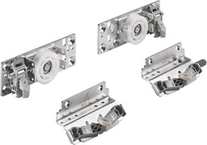 Schiebetürbeschläge-Set TopLine XL, hintere Tür (NIK)