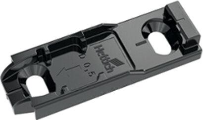 Linear-Montageplatte System 8099, Zinkdruckguss