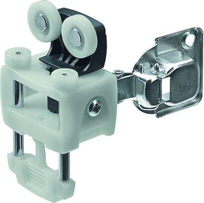 Laufteil WingLine L, 1 Scharnier, Kunststoff/Stahl