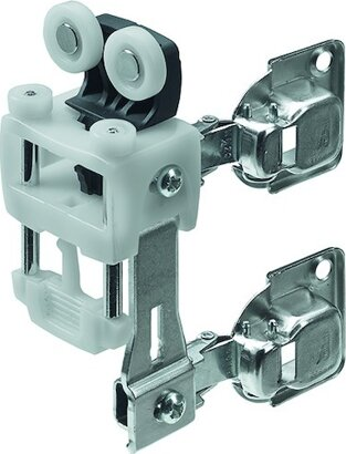 Laufteil WingLine L, 2 Scharniere, Kunststoff/Stahl