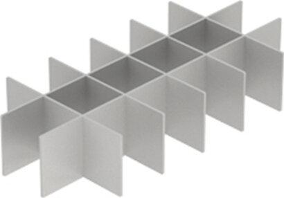 Schubkasteninnenorganisation OrgaTray 260, Facheinteiler, Aluminium