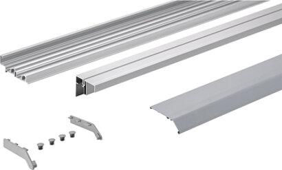 Laufprofil-Set TopLine XL, Aluminium (NIK)