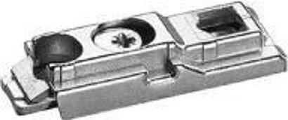 Linear-Montageplatte Intermat 9000, Zinkdruckguss