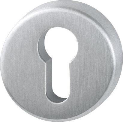 Schlüsselrosette E42KVS, Edelstahl