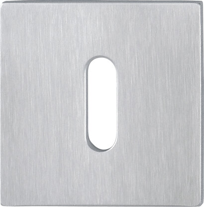 Schlüsselrosette E848NS, Edelstahl