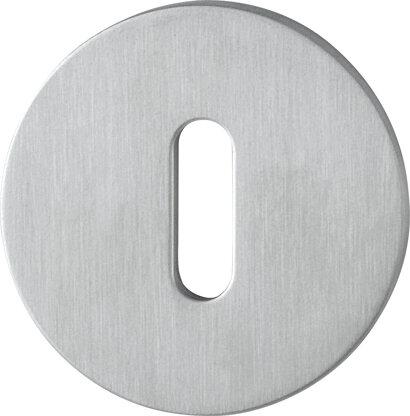 Schlüsselrosette E849NS, Edelstahl