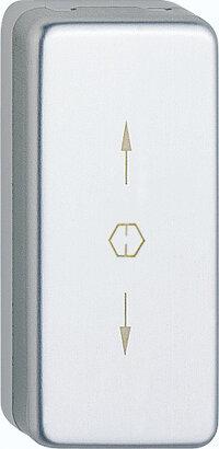 Verdeckrosette U34SV, Aluminium