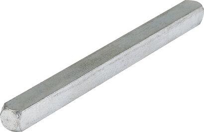 Vierkantstift, Eisen
