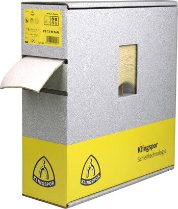 Schleifpapier mit Schaumstoffbeschichtung