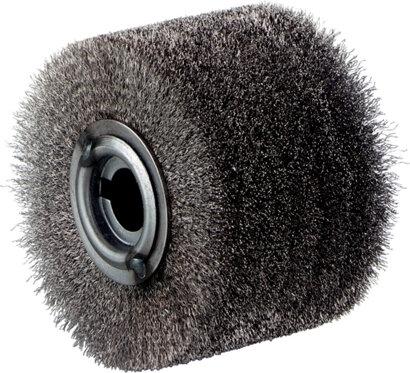Stahldraht-Rundbürste Inox 100x70 mm