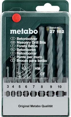 Beton-Bohrerkassette classic 8-teilig