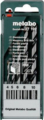 Steinbohrer-Kassette 5-teilig