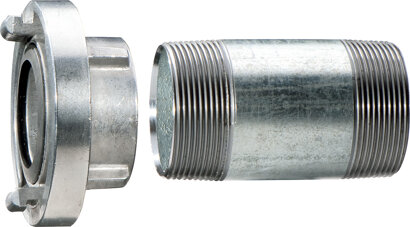 Storzkupplung m.Verlängerungsrohr 100 mm