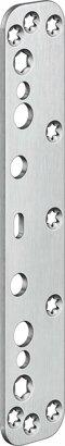 Abdeckplatte für Objekttüren VARIANT® VX 2590 N, Edelstahl