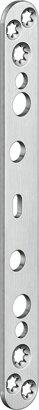 Abdeckplatte für Objekttüren VARIANT® VX 2580 N, Edelstahl