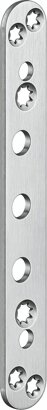 Abdeckplatte für Objekttüren VARIANT® VX 7581, Edelstahl