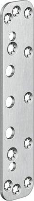 Abdeckplatte für Objekttüren VARIANT® VX 7591, Edelstahl