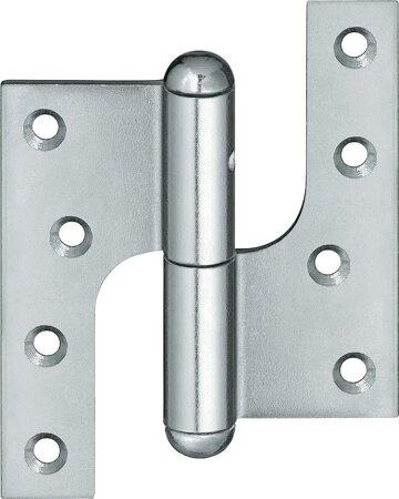 Aufschraubband für Türen P100, Stahl