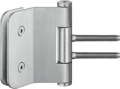 Ganzglastürband VARIANT® VG 3990, Edelstahl