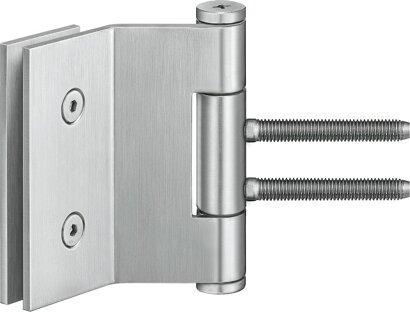 Ganzglastürband VARIANT® VG 3990 K, Edelstahl