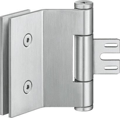 Ganzglastürband VARIANT® VG 8790 K, Edelstahl