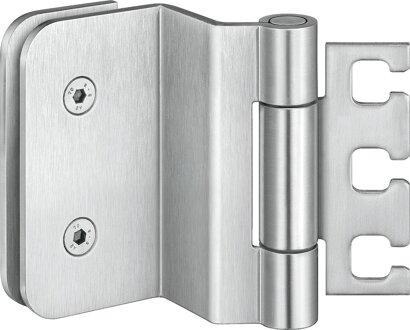Ganzglastürband VARIANT® VXG 7780/100, Edelstahl
