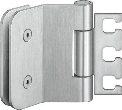 Ganzglastürband VARIANT® VXG 7990/100, Edelstahl