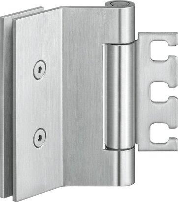 Ganzglastürband VARIANT® VXG 7990/120 K, Edelstahl