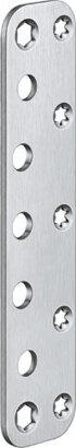 Abdeckplatte für Objekttüren VARIANT® VX 7590, Edelstahl