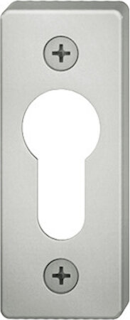 Schlüsselrosette für Rohrrahmengarnitur