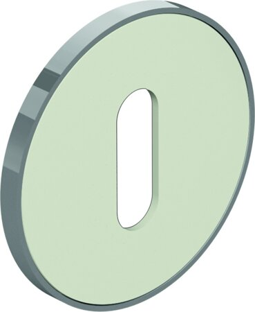 bicolor Schlüsselrosette 306.23XI, Edelstahl