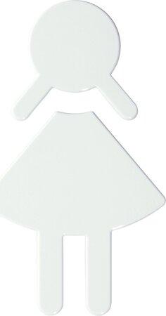 Symbol Damen ohne Zapfen