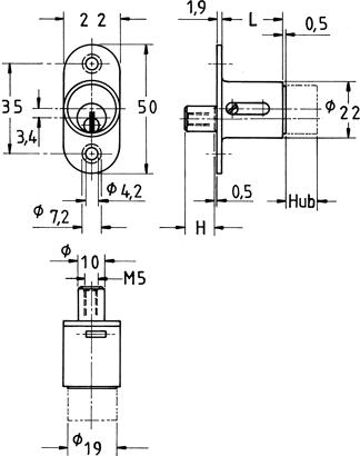Druckzylinder-Schlösser