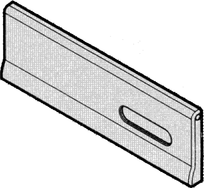 Briefeinwurfklappe Modell 17.801