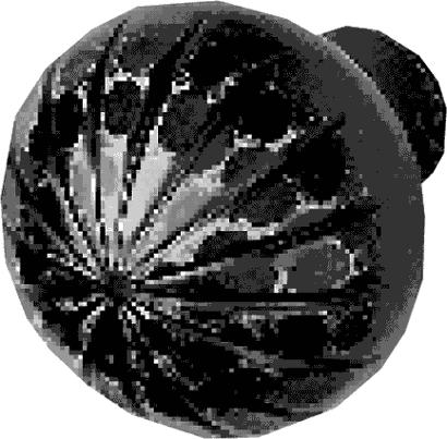 Knopfdrücker-Lochteil