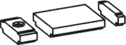 Öffnungsbegrenzer für Gleitschiene 1-flg.