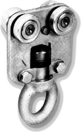 Rollapparat mit drehbarer Ringmutter