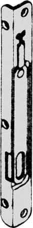 Fangplatte 4 mm Falzluft