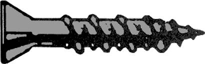 Gipsfaserplattenschrauben mit Fräsrippen PH