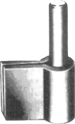 Anschweisskloben für Stahlzargen