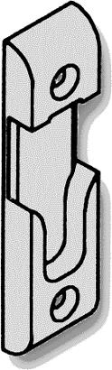 Schließgehäuse zu Secury R4 zum Anschrauben