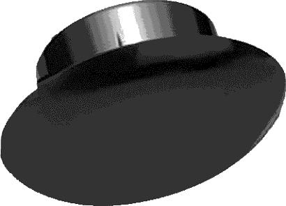 Einbohr-Gleiter ohne Rolle