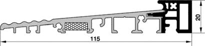 Renovierungs-Bodenschwelle HTS16.1.1