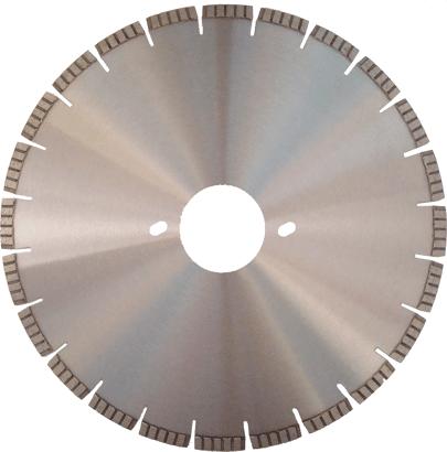 Diamant-Trennscheibe Segmentiert für BePo
